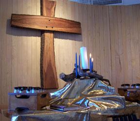 Advent altar 2008